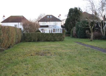 Thumbnail 4 bed detached house to rent in West Drive, Cheam, Surrey