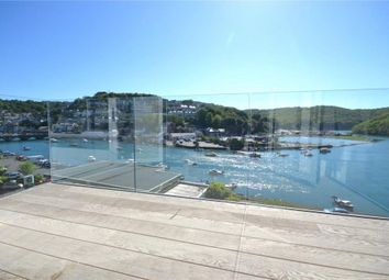 Thumbnail 2 bed flat for sale in Riverside View, Station Road, Looe, Cornwall