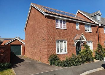 Thumbnail 5 bed detached house to rent in Colossus Way, Norwich, Norfolk