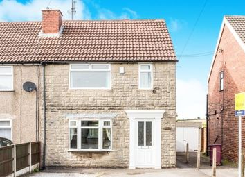 Thumbnail 3 bedroom semi-detached house for sale in Williamthorpe Road, North Wingfield, Chesterfield, Derbyshire