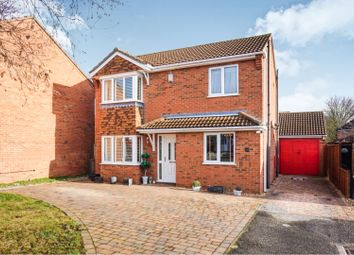 Thumbnail 3 bed detached house for sale in Acer Close, Lincoln