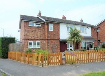 Thumbnail 4 bed semi-detached house for sale in Chiltern Avenue, Leicester