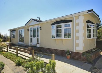 Thumbnail 2 bed mobile/park home for sale in Pilley Hill, Pilley, Lymington