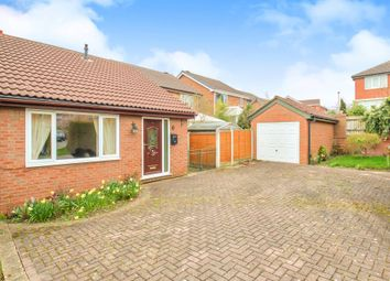 Thumbnail 2 bed semi-detached bungalow for sale in Broadcroft Drive, Tingley, Wakefield