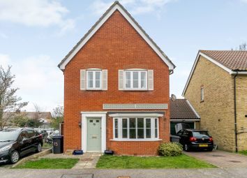Thumbnail 3 bed detached house for sale in Plover Close, Herne Bay