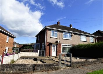 Thumbnail 3 bed semi-detached house for sale in Penymynydd, Bettws, Bridgend