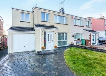 Thumbnail 4 bed semi-detached house for sale in Hartley Vale, Plymouth, Devon