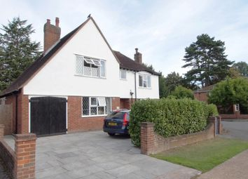 Thumbnail 3 bed detached house for sale in Lyncroft Gardens, Ewell Village