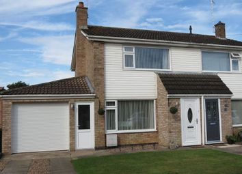 Thumbnail 4 bed semi-detached house for sale in Cloven Ends, Langtoft, Peterborough