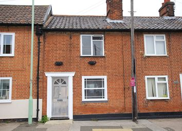 Thumbnail 2 bed terraced house for sale in The Street, Bramford, Ipswich, Suffolk