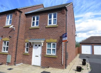 Thumbnail 2 bed semi-detached house for sale in Piper Close, Mansfield Woodhouse, Mansfield