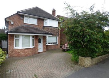 Thumbnail 4 bed detached house to rent in Radnormere Drive, Cheadle, Stockport