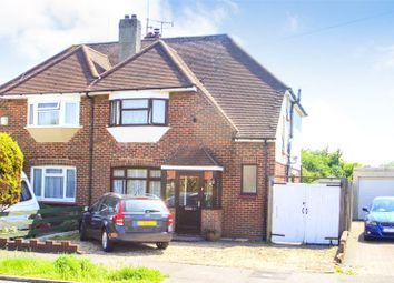 Thumbnail 3 bed semi-detached house for sale in Cokeham Road, Sompting, West Sussex