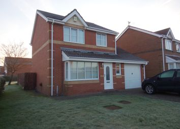 Thumbnail 3 bed detached house for sale in Harelaw Drive, Ashington