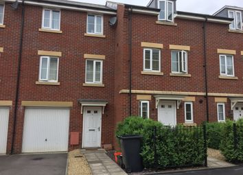Thumbnail 3 bed terraced house for sale in Fontmell Close, Swindon