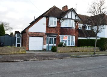Thumbnail 3 bed detached house to rent in Withcote Avenue, Leicester