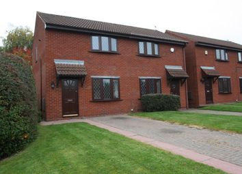 Thumbnail 2 bed semi-detached house to rent in 1 Bollington Avenue, Leftwich, Northwich, Cheshire