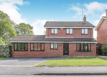 Thumbnail 4 bed detached house for sale in Bonneville Close, Millisons Wood, Coventry