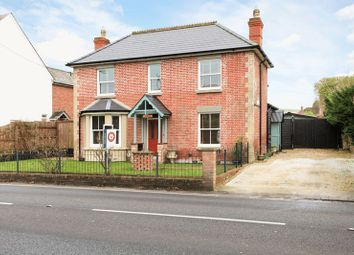 Thumbnail 3 bed detached house for sale in Warminster Road, South Newton, Salisbury