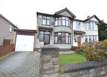 Thumbnail 3 bed semi-detached house for sale in Chalfont Road, Allerton, Liverpool