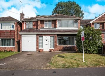 Thumbnail 4 bed detached house for sale in Reynolds Close, Hillmorton, Rugby