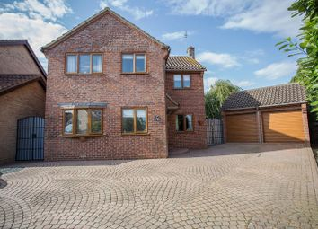 Thumbnail 4 bed detached house for sale in Blenheim Way, Yaxley, Peterborough, Cambridgeshire.