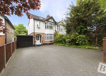 Thumbnail 4 bed semi-detached house for sale in Main Road, Romford, Essex