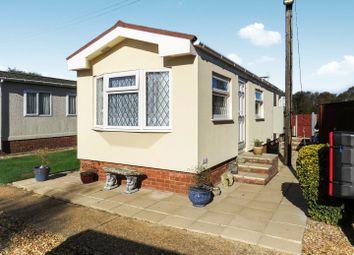 Thumbnail 2 bedroom mobile/park home for sale in Station Road, Heacham, King's Lynn