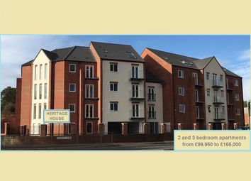 Thumbnail 2 bed flat for sale in Plot 3, Heritage House, Woodland Park View, Mansfield