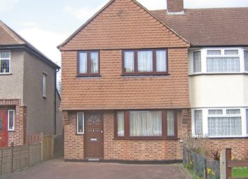 Thumbnail 3 bed end terrace house for sale in Hughendon Road, Worcester Park