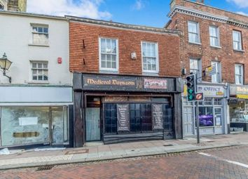 Thumbnail 3 bed terraced house for sale in High Street, Rochester, Kent