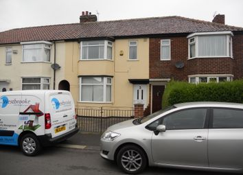 Thumbnail 3 bed terraced house to rent in Corby Avenue, Middlesbrough