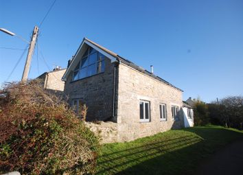 Thumbnail 3 bed detached house for sale in Lands End Road, St. Buryan, Penzance