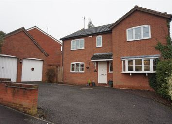 Thumbnail 4 bed detached house for sale in The Tithings, Kibworth