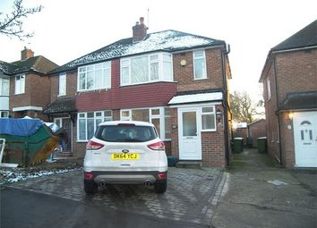 Thumbnail 3 bedroom semi-detached house to rent in Oulton Crescent, Potters Bar
