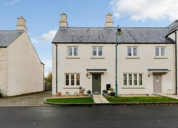 Thumbnail 4 bedroom end terrace house for sale in Hardie Close, Tetbury, Gloucestershire