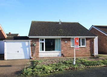 Thumbnail 2 bed detached bungalow for sale in St. Lukes Close, Cherry Willingham, Lincoln