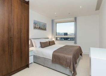 Thumbnail 2 bed flat to rent in Duckman Tower, 3 Lincoln Plaza, Canary Wharf, London