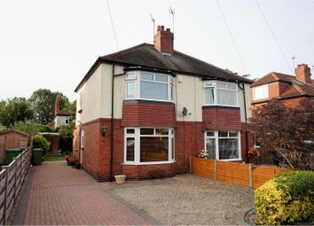 Thumbnail 2 bedroom semi-detached house for sale in Moorgarth Avenue, York
