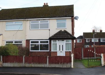 Thumbnail 3 bed semi-detached house to rent in Rose Avenue, Irlam, Manchester