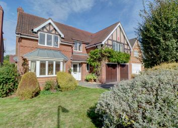 Thumbnail 5 bed detached house for sale in Great Hockings Lane, Webheath, Redditch