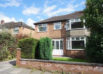 Thumbnail 4 bedroom property to rent in Withington Road, Chorlton