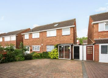 Thumbnail 4 bed semi-detached house for sale in Plumpton Close, Northolt