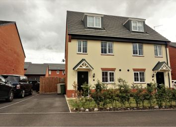 Thumbnail 3 bed semi-detached house for sale in Badens Croft Road, Crewe