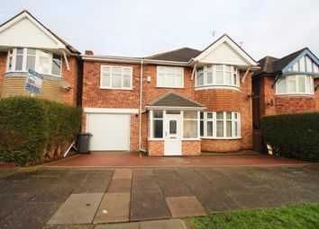 Thumbnail 4 bed detached house for sale in Summerlea Road, Leicester