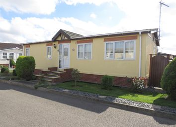 Thumbnail 2 bed mobile/park home for sale in Fenland Village, Osborne Road, Wisbech