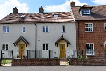 Thumbnail 3 bed town house to rent in Park Street, Heytesbury, Warminster