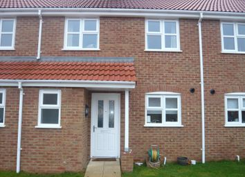 Thumbnail 3 bedroom terraced house to rent in Horseman Close, Downham Market