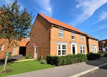 Thumbnail 4 bed detached house for sale in Agincourt Drive, Sarisbury Green, Southampton