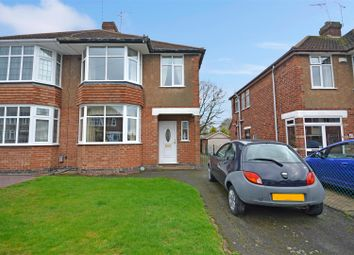 Thumbnail 4 bed semi-detached house for sale in Frankton Avenue, Styvechale, Coventry